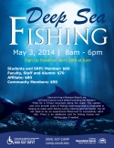 Deep Sea Fishing Flyer