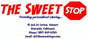 The Sweet Stop providing personalized catering