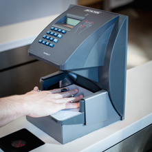 Photo of Biometric Hand Scanner