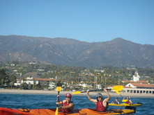 Santa Barbara Kayak Photo PA130020