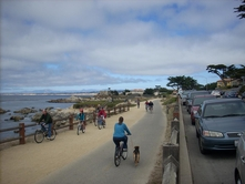 Monterey Bay - Alternative Summer Break  Photo monterey_bike
