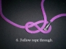 How to tie a figure eight knot Photo 909